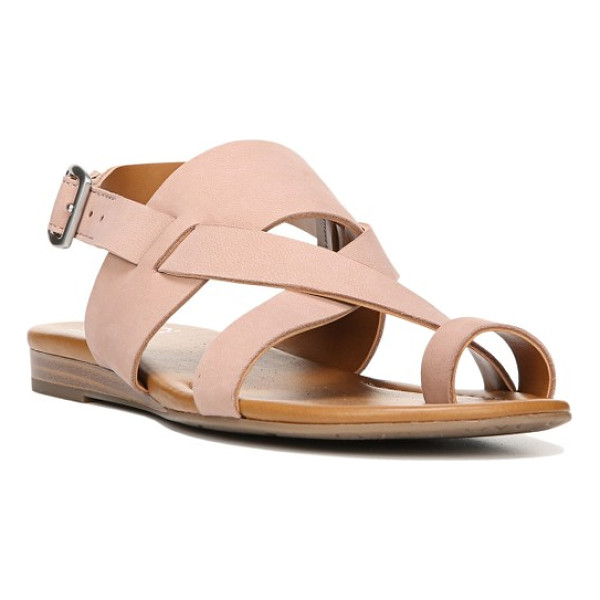 FRANCO SARTO gia sandal - Sleek, streamlined design defines a smooth sandal with a...