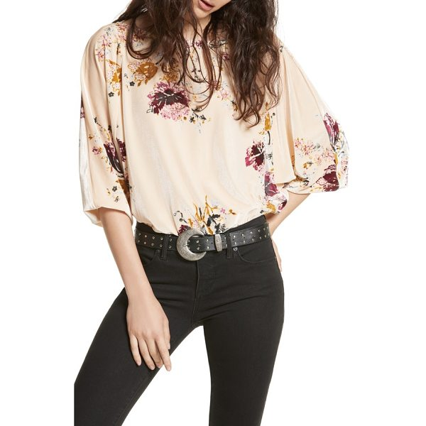FREE PEOPLE babe slouchy velvet bodysuit - Create the perfect tucked-in bohemian look in this slouchy...