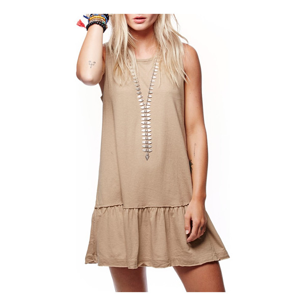 FREE PEOPLE brittany peplum tunic - Perfect for the spring, this breezy tunic has a feminine...