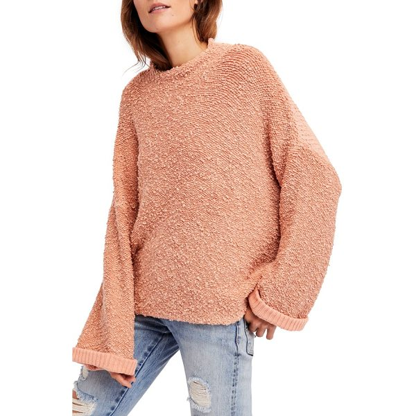 FREE PEOPLE cuddle up pullover - This slouchy and plush pullover is ideal is ideal for easy...