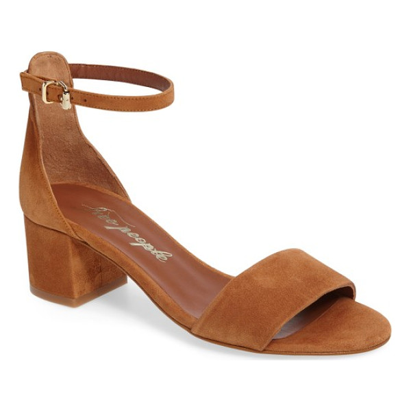 FREE PEOPLE marigold ankle strap sandal - That perfect sandal you'll want to wear with everything?...