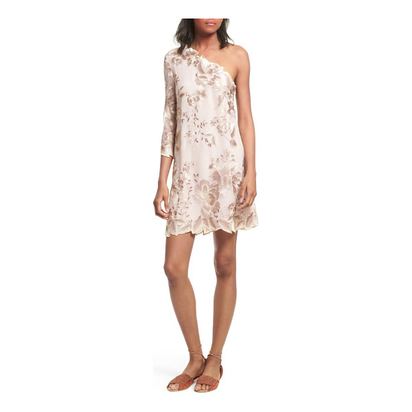 FREE PEOPLE rosalie embroidered minidress - This feminine minidress is cut with a slim silhouette that...