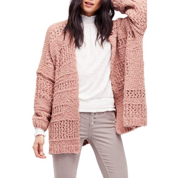 FREE PEOPLE saturday morning cardigan - Elevate your cozy-chic style game with a chunky knit...