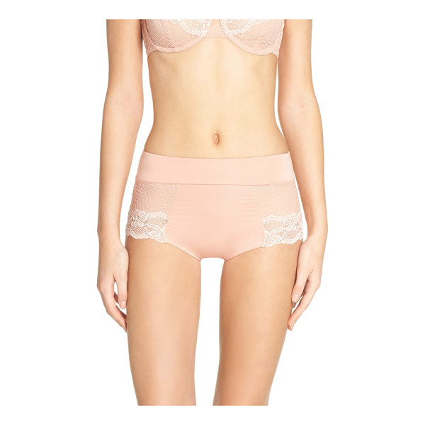 FREE PEOPLE intimately fp single lady boyshorts - A smooth, flattering high waist creates a sleek fit in...