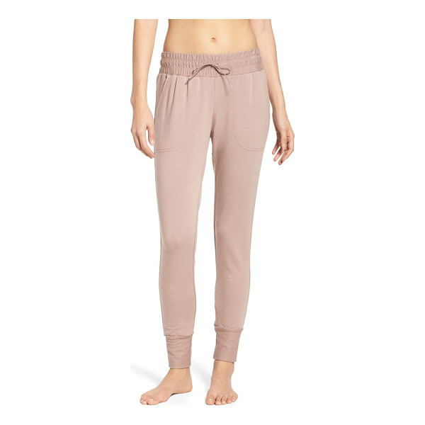 FREE PEOPLE fp movement skinny sweat jogger pants - Sure to be a go-to for workouts and early morning coffee...