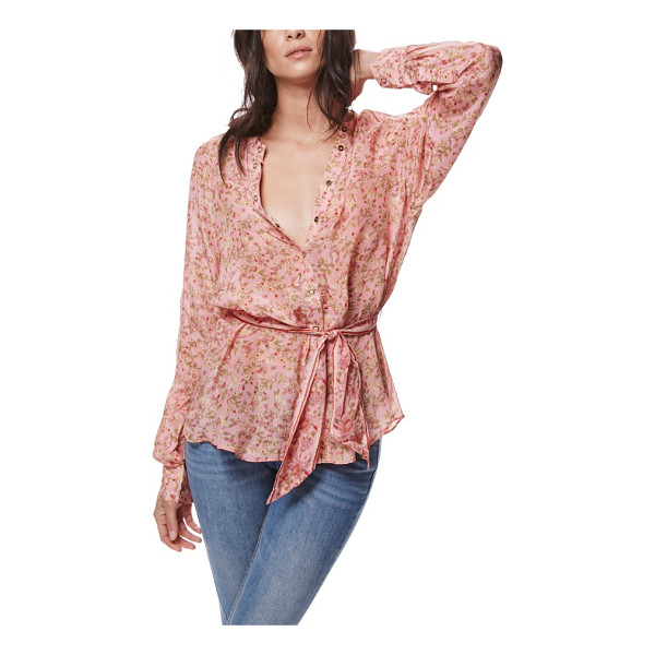 FREE PEOPLE skyway blouse - Treat this beautifully draped blouse as the weekday...