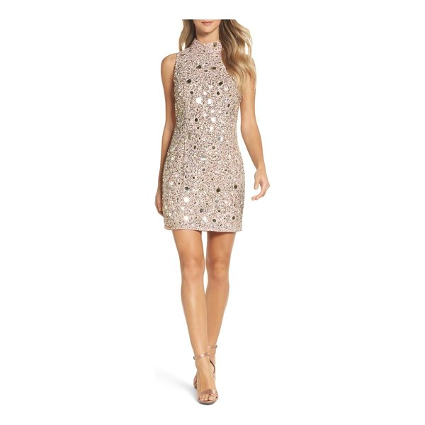 FRENCH CONNECTION eloise mirrors body-con dress - Sparkle throughout the party season in this statement mini...
