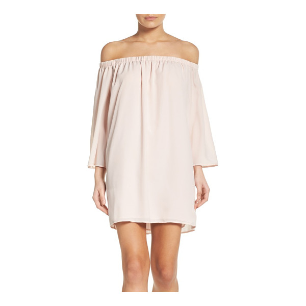 FRENCH CONNECTION polly off the shoulder dress - A flowy, flattering and versatile dress to get you through...