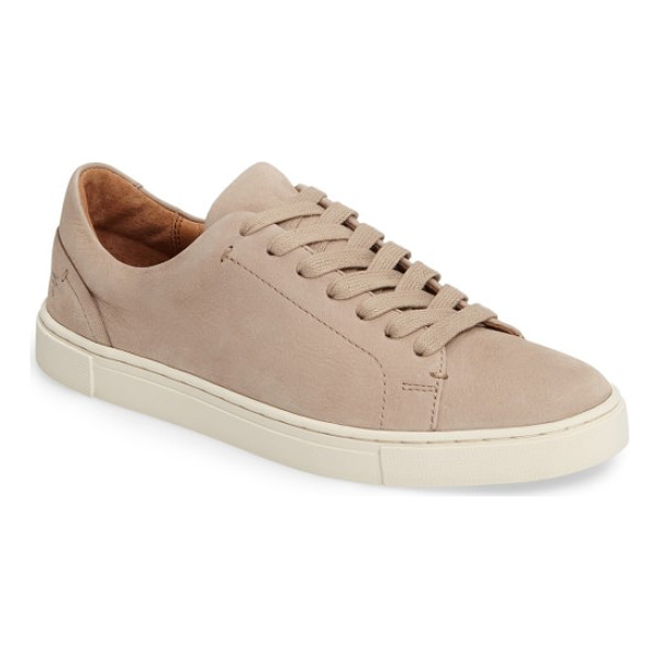 FRYE ivy sneaker - Designed with a sleek, low-profile silhouette from softly...