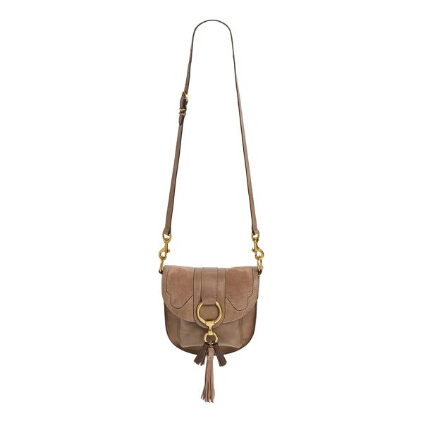 FRYE small ilana harness leather saddle bag - Handcrafted from vegetable-tanned Italian leather, this...