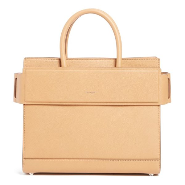 GIVENCHY medium horizon grained calfskin leather tote - Textured calfskin leather is beautifully crafted into a...