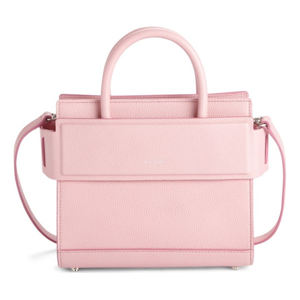 GIVENCHY mini horizon grained calfskin leather tote - Finely pebbled calfskin leather is beautifully crafted into
