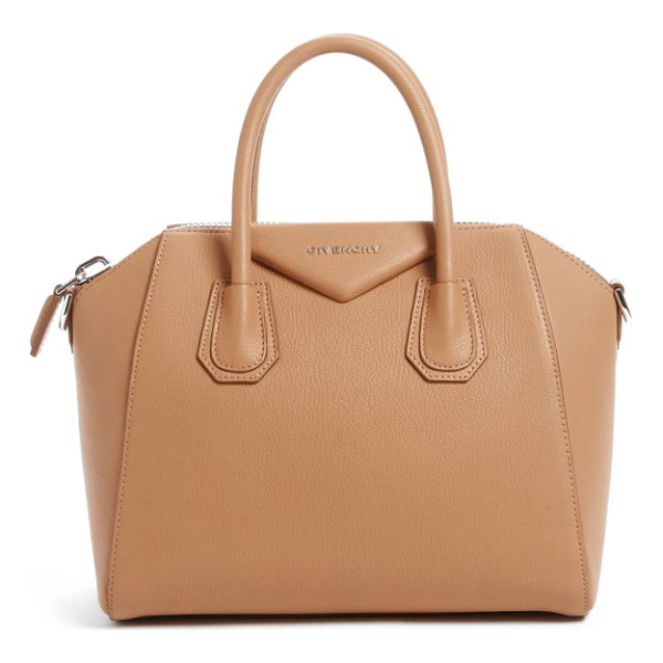 GIVENCHY 'small antigona' leather satchel - Beloved by street-style mavens and well-polished women the...