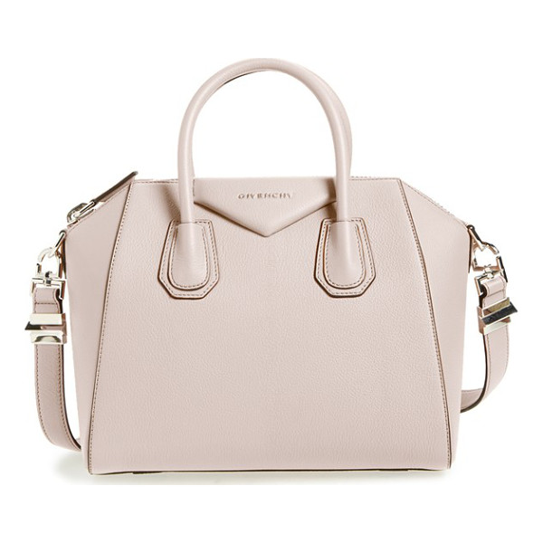 GIVENCHY 'small antigona' leather satchel - Beloved by street-style mavens and well-polished women the