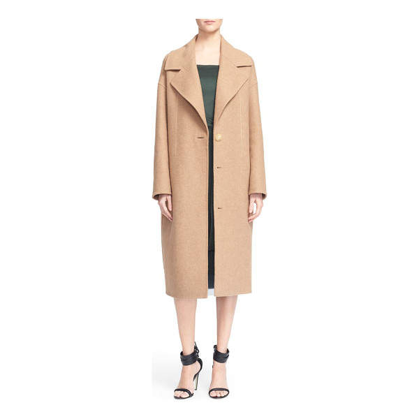 GREY JASON WU double face wool coat - A neutral camel coat is a fall season staple, and Jason Wu...