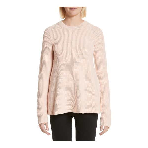 GREY JASON WU wool trapeze sweater - Knit with a delightfully swingy silhouette, this...