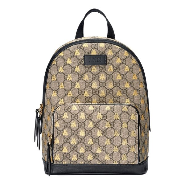 GUCCI bee gg supreme canvas backpack -