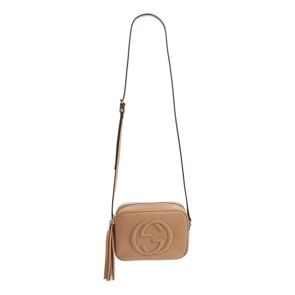 GUCCI soho disco leather bag - Made from supple pebbled leather and quilted with the...