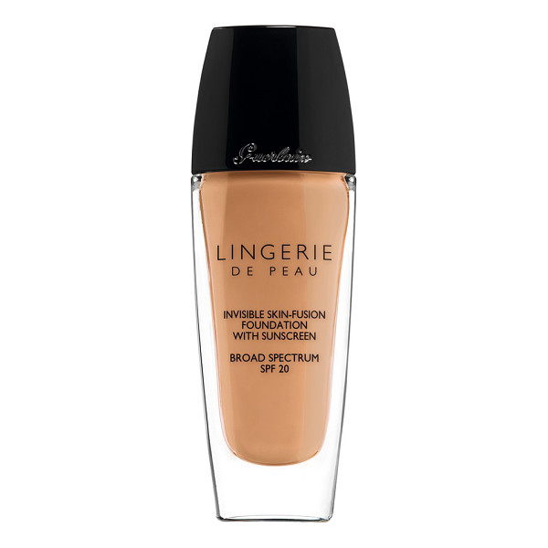 GUERLAIN 'lingerie de peau' invisible skin-fusion foundation spf 20 - Guerlain Lingerie de Peau is an invisible foundation that