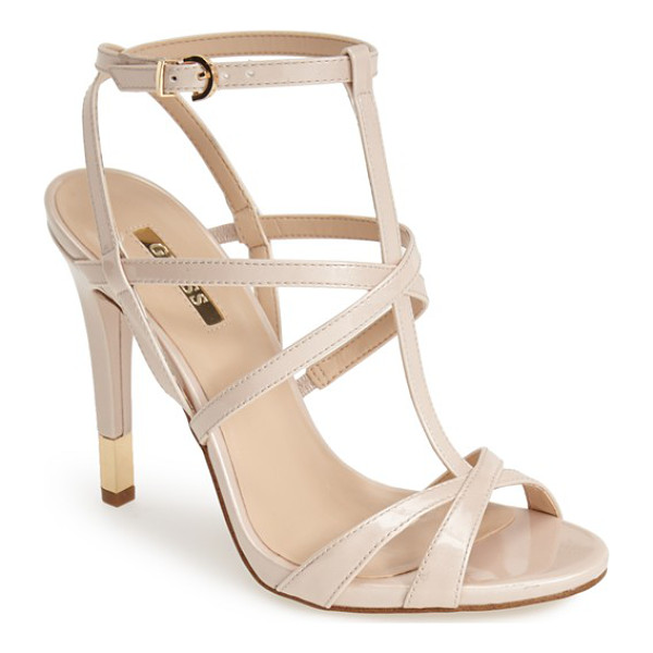 GUESS carnney strappy sandal - Smartly structured and seriously strappy, the Carnney...