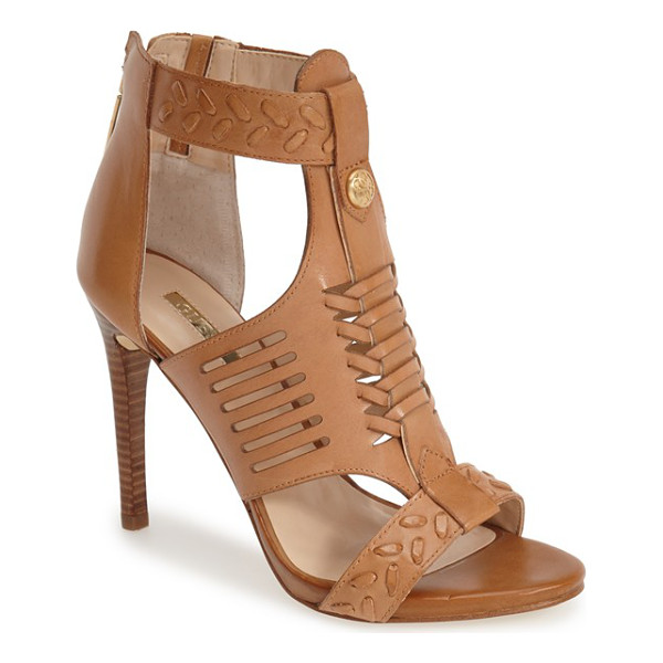 GUESS corale huarache sandal - Huarache-inspired woven detailing at the vamp and...