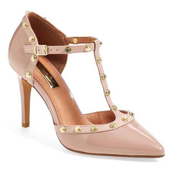 HALOGEN martine studded t-strap pump - Look like a million bucks without breaking the bank in...