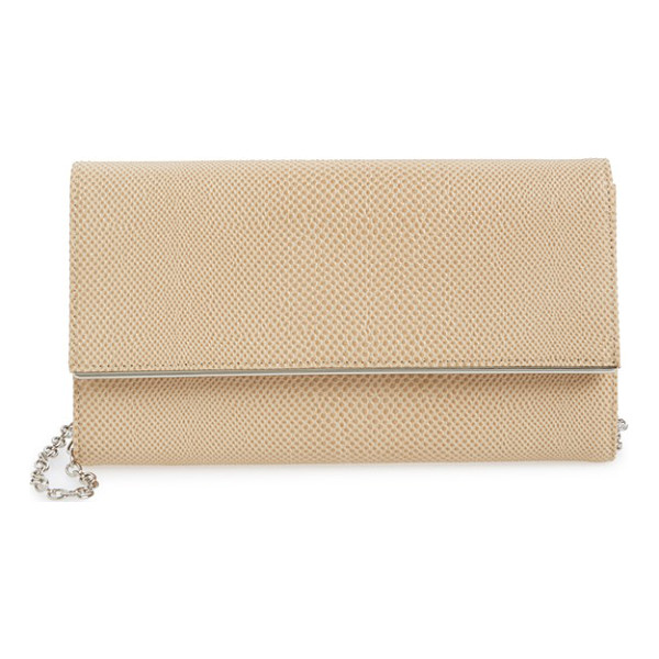 HALOGEN Halogen saffiano leather clutch - Saffiano leather composes a slim, sophisticated clutch...