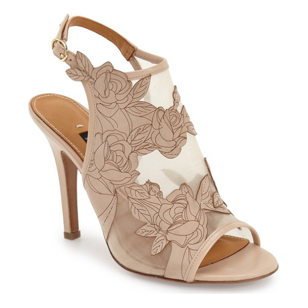 HALOGEN viv platform sandal - A stunning print adds a modern touch to the straps of a...