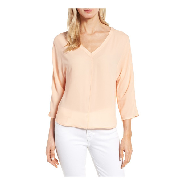 HALOGEN halogen back tie blouse - Add a bit of ethereal beauty to your closet with a delicate...