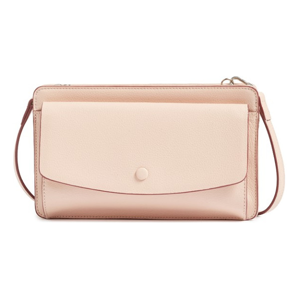 HALOGEN halogen convertible leather crossbody bag - Whether you're headed uptown or downtown, stay flawlessly...