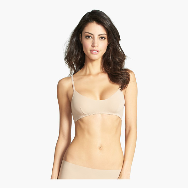 HANKY PANKY bare bralette - A darted, scoop-neck bralette made of Hanky Panky's...