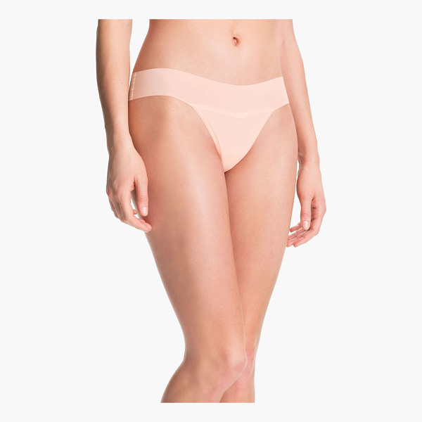 HANKY PANKY 'bare - A sleek thong cut from a unique second-skin jersey is...