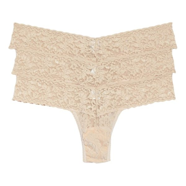 HANKY PANKY low rise thong - Classic colors style low-rise thongs made from soft and...