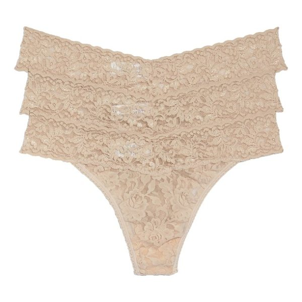 HANKY PANKY original rise thong - Classic colors style regular-rise thongs made from soft and...