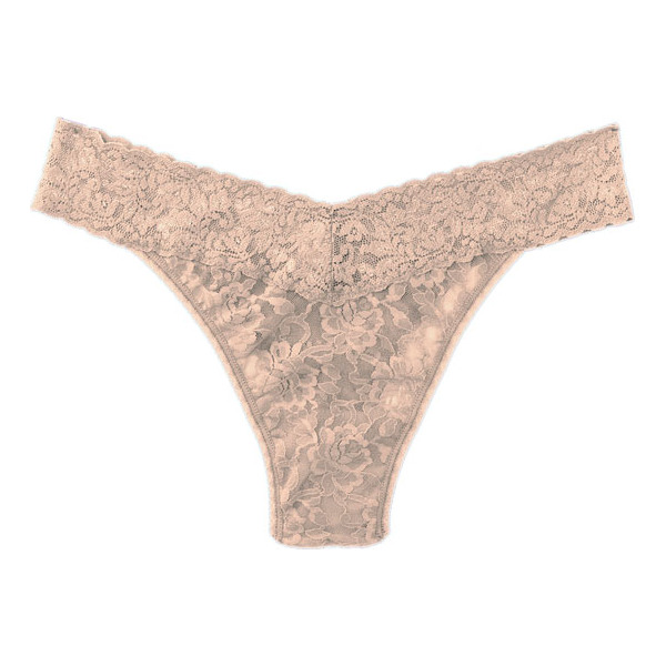 HANKY PANKY original rise thong - Fabulously soft and stretchy lace design feels great on and...