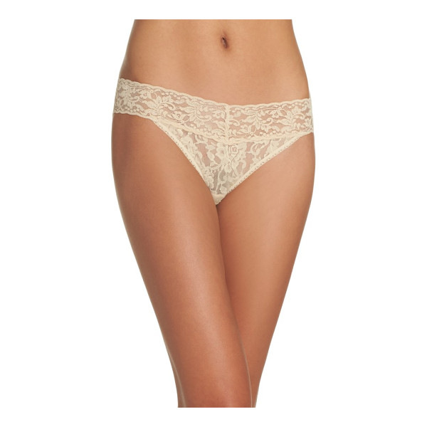 HANKY PANKY signature lace vikini - Signature stretch-lace style combines the flattering fit of...