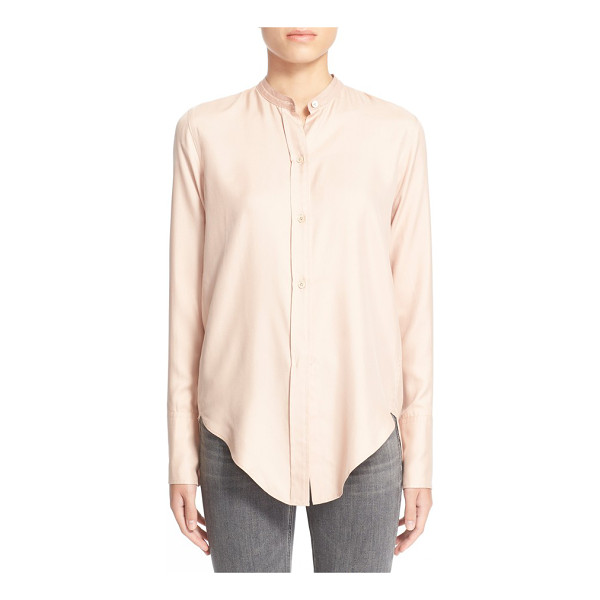 HELMUT LANG silk blouse - Lustrous Italian silk amplifies the modern refinement of a...