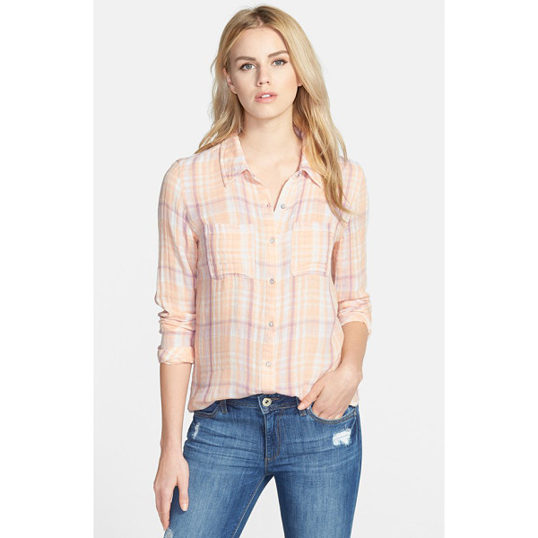 HINGE plaid shirt - Cool, colorful checks complete the quintessential...