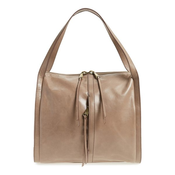 HOBO century leather shopper - With its charming, boxy silhouette and glossy, glazed...
