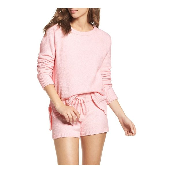 HONEYDEW INTIMATES marshmallow sweatshirt - This cuddle-ready pullover is made of plush fleece for...