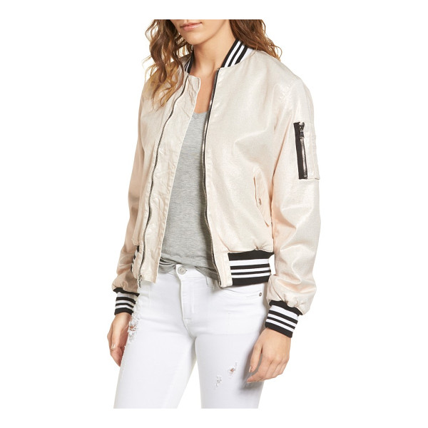 HUDSON gene puffy bomber jacket - Bounce around town and get things done in a chic bomber...