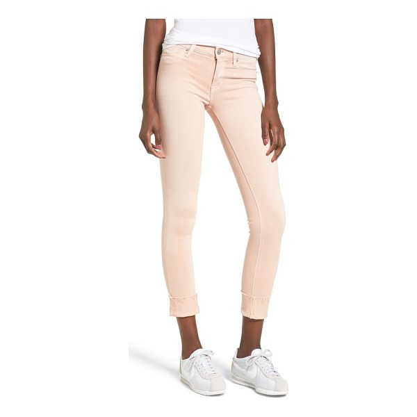 HUDSON tally crop skinny jeans - With a skinny crop and rolled hem, these super-flattering...