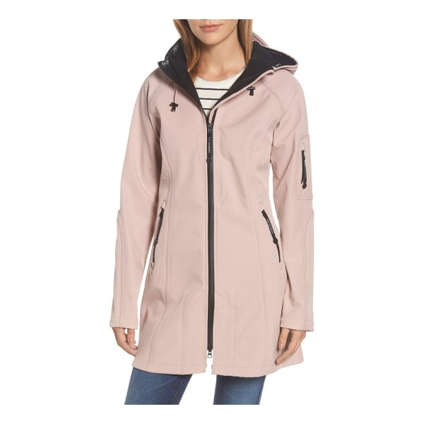 ILSE JACOBSEN regular fit hooded raincoat - Smart Scandinavian design inspires a technically innovative...
