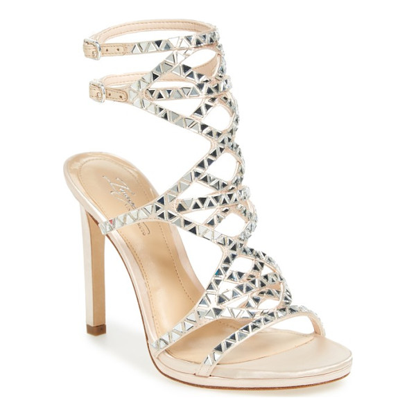 IMAGINE BY VINCE CAMUTO galvin sandal - Triangular crystals sparkle along the straps of a...