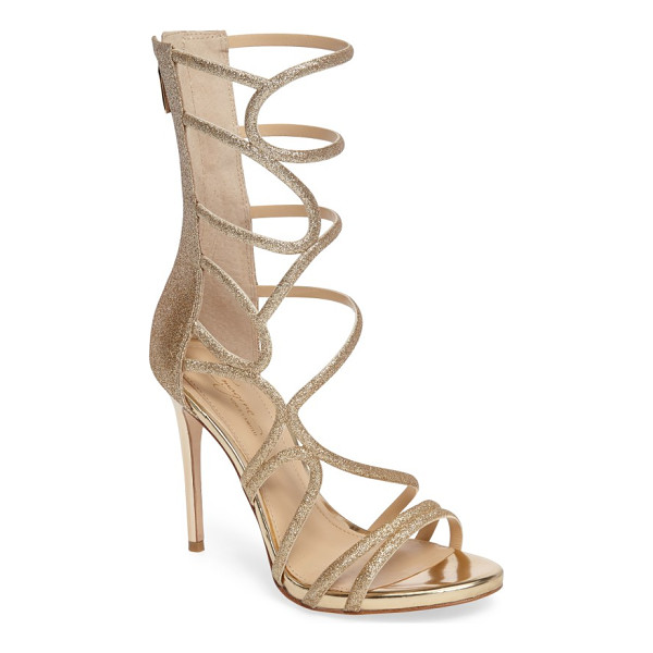 IMAGINE BY VINCE CAMUTO imagine vince camuto daisi sandal - Curvy straps loop and wind their way up the extended shaft...