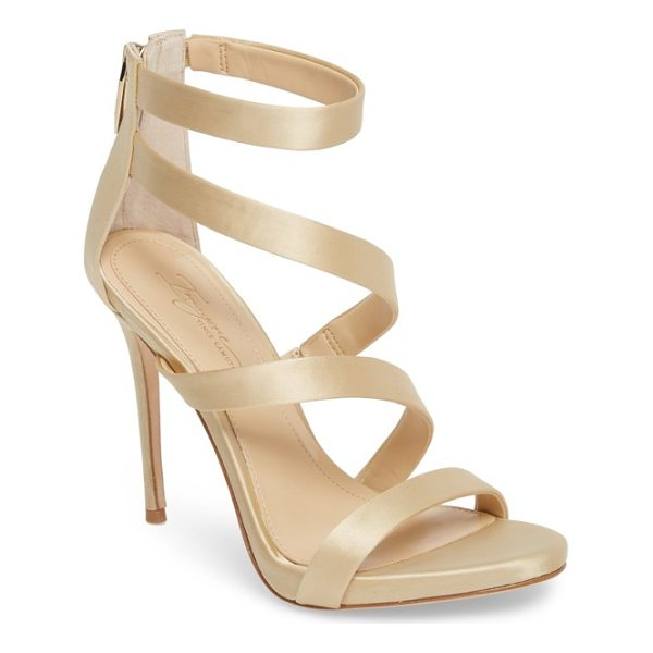 IMAGINE BY VINCE CAMUTO imagine vince camuto dalles tall strappy sandal - Slender straps angle gracefully up the front of a...