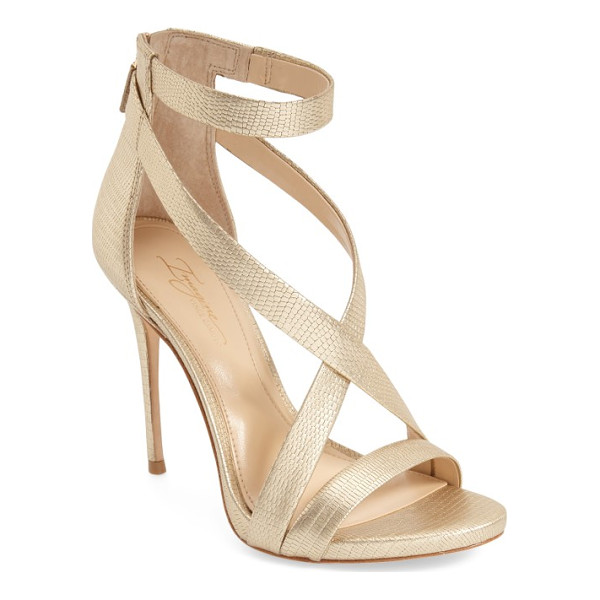IMAGINE BY VINCE CAMUTO imagine vince camuto 'devin' sandal - An alluring strappy sandal is given a daring lift by an...