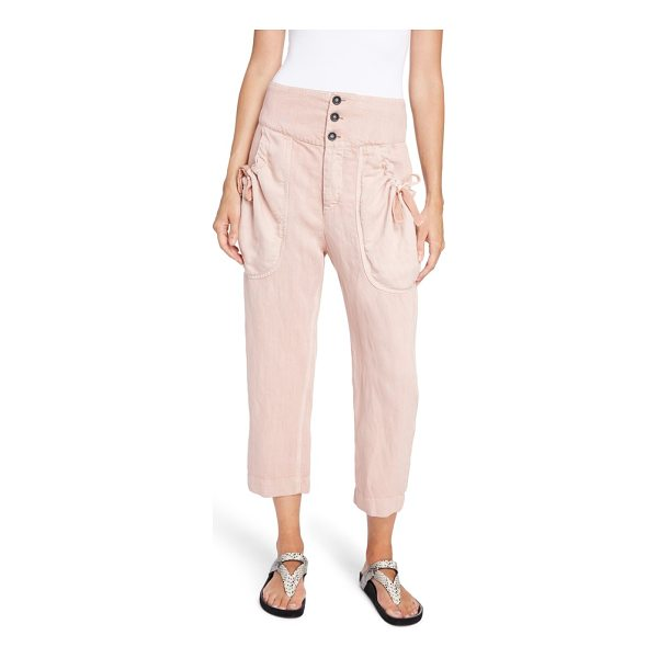 ETOILE ISABEL MARANT weaver pants - Woven with a bit of linen for that perfect, rumpled slouch,...