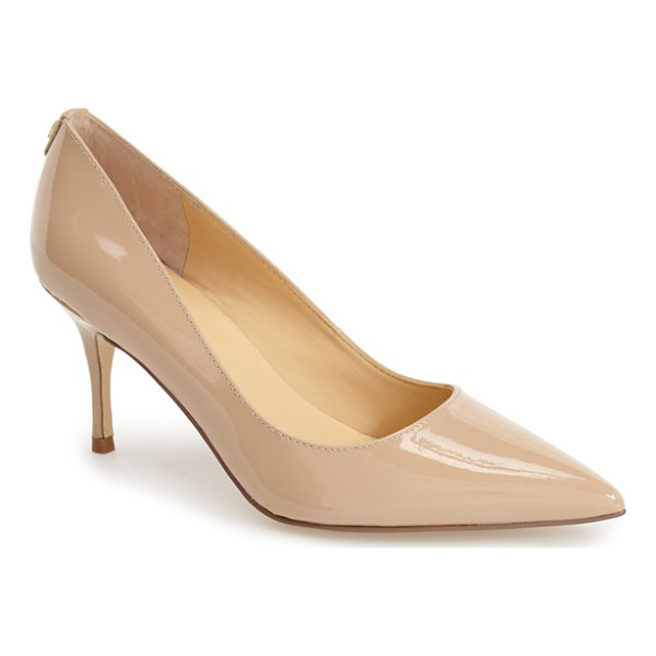 IVANKA TRUMP boni pointy toe pump - A modest slim heel elevates this elegantly designed pump...