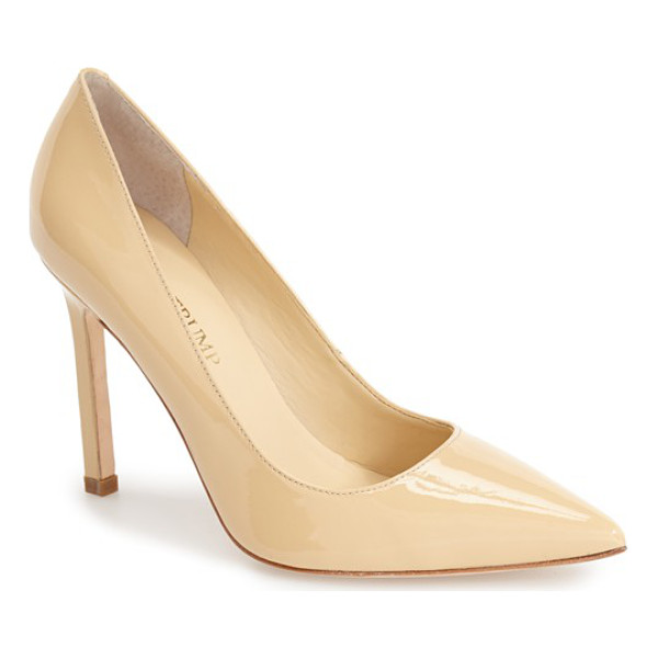 IVANKA TRUMP carra pump - A square stiletto heel lends a modern, angular touch to a...